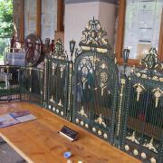 Les grilles du Parc de la Tête d'Or